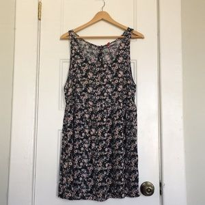 H&M floral babydoll dress size 10